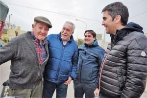 Balbín adelantó la campaña y visitó 18 pueblos de la Sexta en 8 días