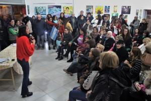 """El espacio """"Tita Merello"""" rindió homenaje a las mujeres que luchan"""