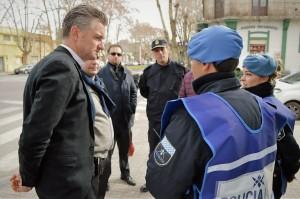 """Seguridad: experto británico evaluó el """"Policiamiento"""" con Garro"""