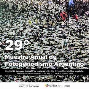Se inaugura la nueva edición de la Muestra Anual de Fotoperiodismo Argentino