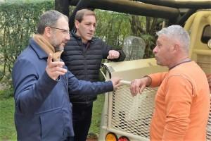 Timbreo: Garro y Perechodnik escucharon a vecinos de Villa Garibaldi