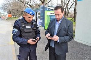 La Policía ahora tiene un dispositivo online para identificar personas y autos