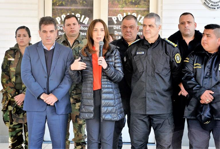 Ritondo y Vidal en La Matanza