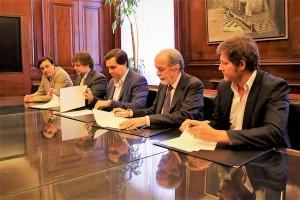 Amplio acuerdo para brindar apoyo financiero y capacitación a Pymes