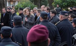 Inseguridad: Vidal puso 12 mil policías más en las calles