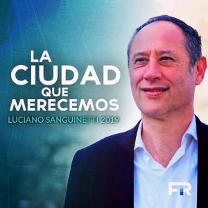 """Sanguinetti en campaña: """"La Plata fue tomada por asalto"""""""