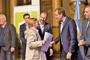 Perechodnik y Garro, apegados al mensaje homogéneo de unidad para enfrentar la crisis