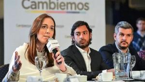 """Vidal llamó a sostener la coalición Cambiemos """"más que nunca"""""""