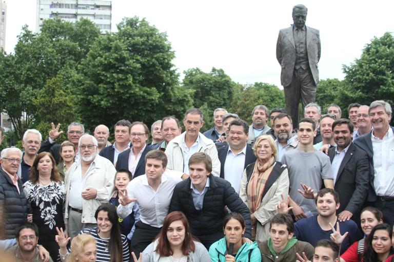 Acto UCR - 35 años democracia - La Plata