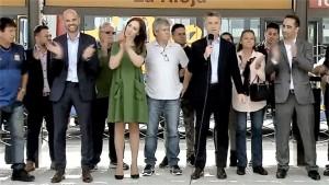 """En medio de los huracanes """"Lilita"""" y """"gas"""", Macri marcó la cancha"""