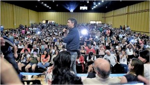 """Máximo Kirchner: """"Quieren instalar el miedo"""" a que gane un candidato K"""