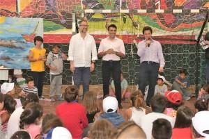 """Lanzaron en Necochea el programa """"Escuelas abiertas de verano"""""""