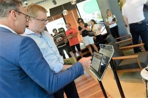 Banco Provincia lanzó un espacio que fusiona negocios y café
