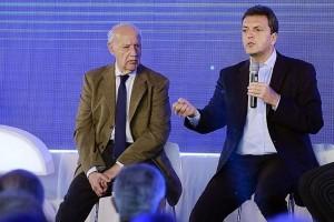 Lavagna habló de su candidatura y se diferenció de Massa