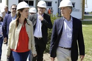 Macri y Vidal recorrerán las obras de la cuenca del Río Salado
