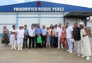 Vidal recorrió tres distritos del interior con acento en la gestión