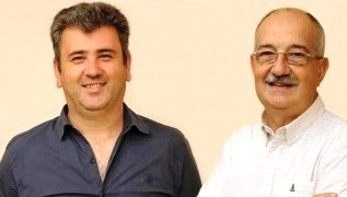 Eduardo Arduh y Alberto Mainero
