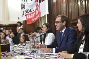 """Garro volvió a recordar a Bruera: """"Recibimos una Ciudad en ruinas"""""""