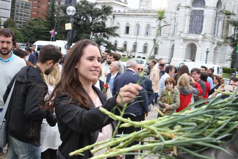 Homenaje a Alfonsin - La Plata