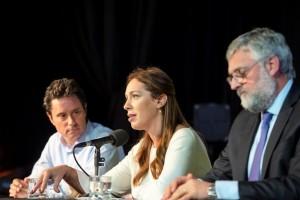 Vidal anunció el final del conflicto con los gremios docentes