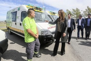 Vidal anunció que a fin de año el SAME cubrirá a toda la Provincia