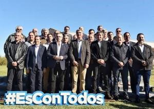 Alberto, Máximo e intendentes del PJ ya cocinan la fórmula para la Provincia