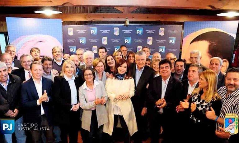 Cristina Kirchner en el PJ