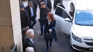 Arranca la segunda audiencia y Cristina Kirchner está presente