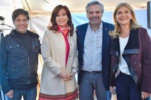 Alberto Fernández y Cristina Kirchner apuran la fórmula bonaerense