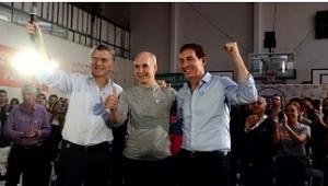 Macri, Larreta y Santilli