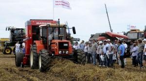 La facturación por la venta de maquinaria agrícola aumentó 62,5% en el primer trimestre