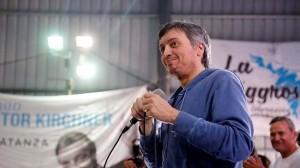 Máximo Kirchner apuntaló la candidatura de Mayra Mendoza en Quilmes