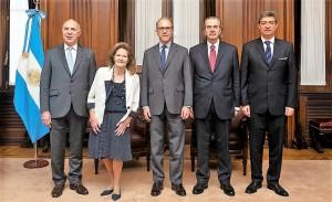 Ministros de la Corte nacional 2019