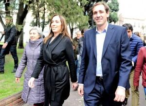 Otra vez y van: Vidal, ahora por video, se bajó de la presidencial