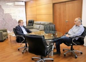 Construyen una nueva sucursal del Banco Provincia en Lanús