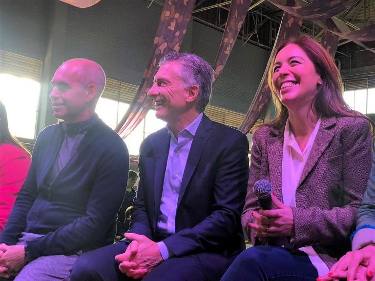 Larreta, Macri y Vidal