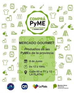 El sábado, Mercado Gourmet se lanza en La Plata