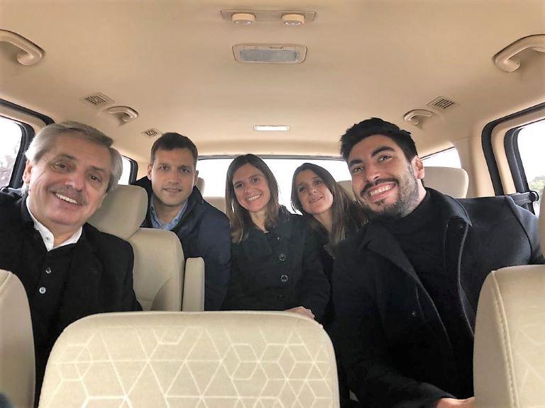 Alberto Fernandez, Facundo Moyano, Raverta, De Jesus, Ines Arrondo