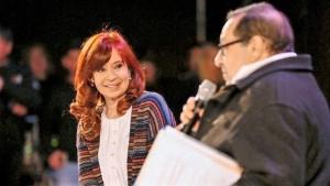 """Cristina: """"Siempre voy a trabajar por la felicidad del pueblo"""""""