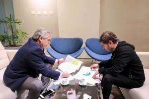 Fernández dijo que Kicillof es «la esperanza » y valoró su capacidad
