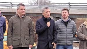 """Macri: """"Estamos por cruzar el río que nos lleva del pasado al futuro"""""""