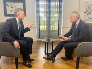 """Macri: la fórmula F-F es """"una destrucción para los argentinos"""""""