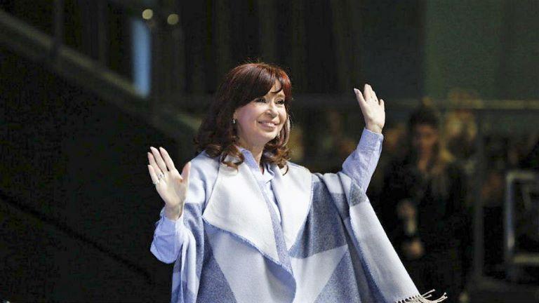 Cristina Kirchner en Malvinas Argentinas