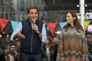 Garro y Vidal relanzaron la campaña con un acto en Gonnet