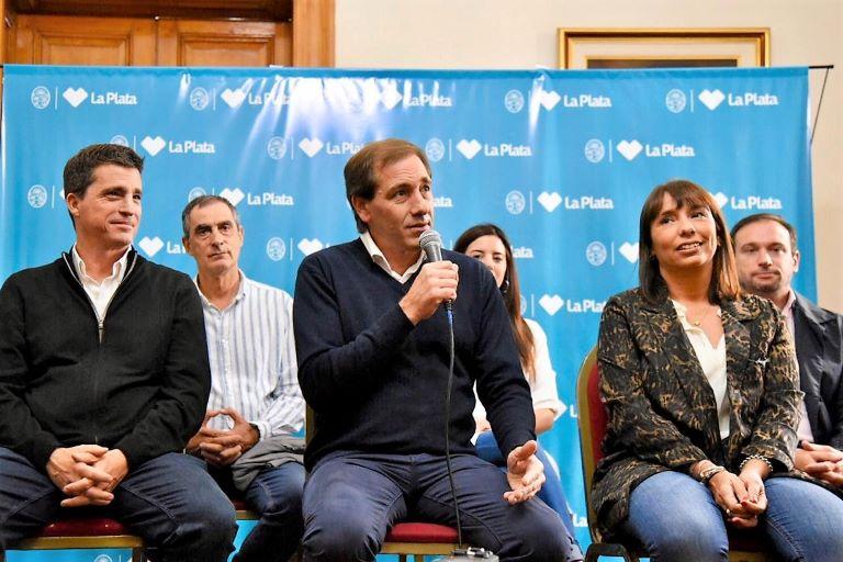 Allan, Frangul, Garro y Barcia