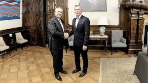 Fernandez y Macri