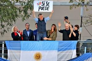 Una multitud apoyó a Macri en la primera marcha del «Sí se puede»