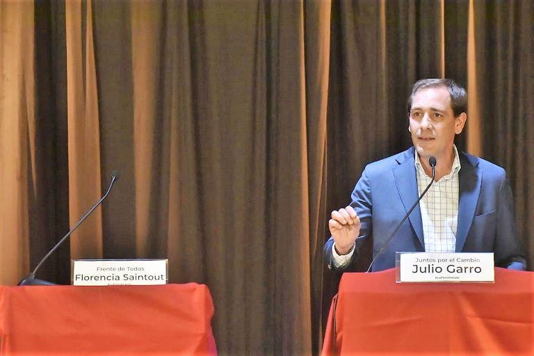 Saintout y Garro - Debate que no fue
