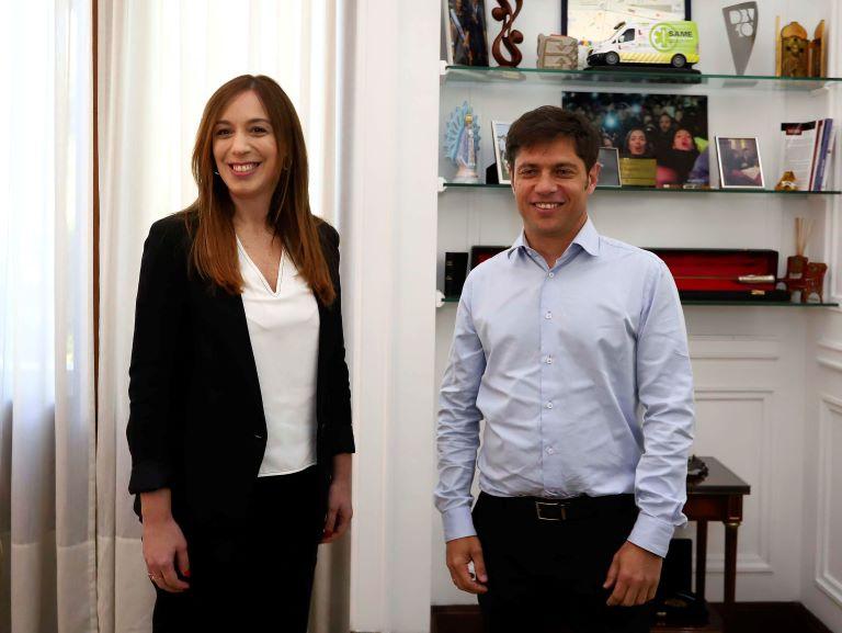 Vidal y Kicillof