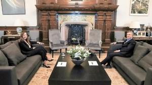 Macri y Vidal hablaron de transición y futuro político